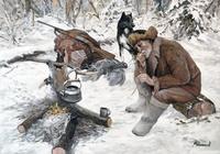 """""""Охотник на привале. """", автор Мельников Александр"""