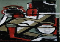 """Красный натюрморт, 2015"", автор Durina Xenia"