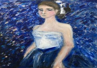 """""""Балерина в синем"""", автор Изварина Светлана"""