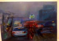 """""""Дождь, дорога, я в машине."""", автор ALEKSEEVA IRINA"""