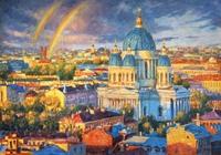 """""""Радужное настроение северной столицы"""", автор Разживин"""