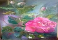 """""""Английская роза."""", автор Фокина Имма"""