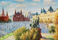"""Москва. 870 лет"", автор Разживин"