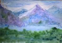 """""""Холодные горы"""", автор Чердинцева"""