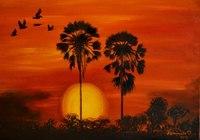 """Африка.Пальмы. "", автор Комарницкая Александра"