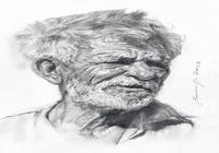 """""""Портрет старика"""", автор Хомутинников Валерий"""
