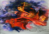 """Танец страсти"", автор Оксана Асокина"