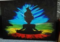 """""""Meditation"""", автор Yuldashbaeva Diana"""