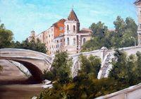 """""""Каменный мост"""", автор Ходоренко-Затонский"""
