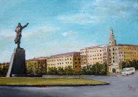 """Площадь Ленина"", автор Ходоренко-Затонский"