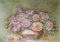 """цветы"", автор LOPOTETSKAYA TATIANA"