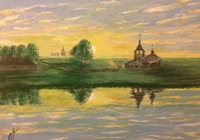 """""""""""Июльский вечер"""""""", автор Прусов Дмитрий"""