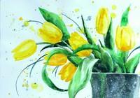 """""""Весна. Тюльпаны."""", автор Ольшевская Наталия"""