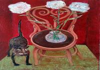 """.Cat And Flowers"", автор ZAKIR"