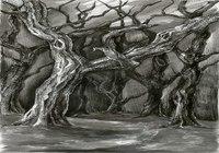 """""""Gloomy Forest"""", автор Asya Elric"""