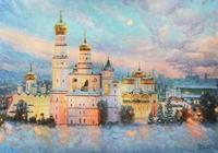 """""""Морозная красота Кремля"""", автор Разживин"""