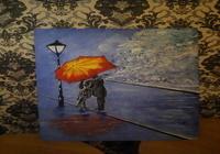 """""""Свидание под зонтом."""", автор Натэлла Орлова"""