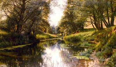 Датский художник Peder Mork Monsted