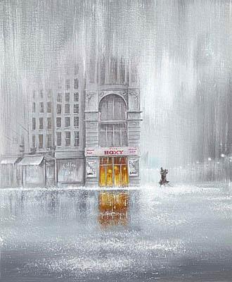 Джефф Роуленд и дождливый Лондон