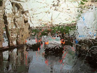 Дождливая живопись от Gregory Thielker