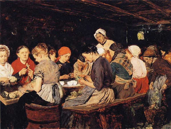 Max Liebermann The Preserve Makers