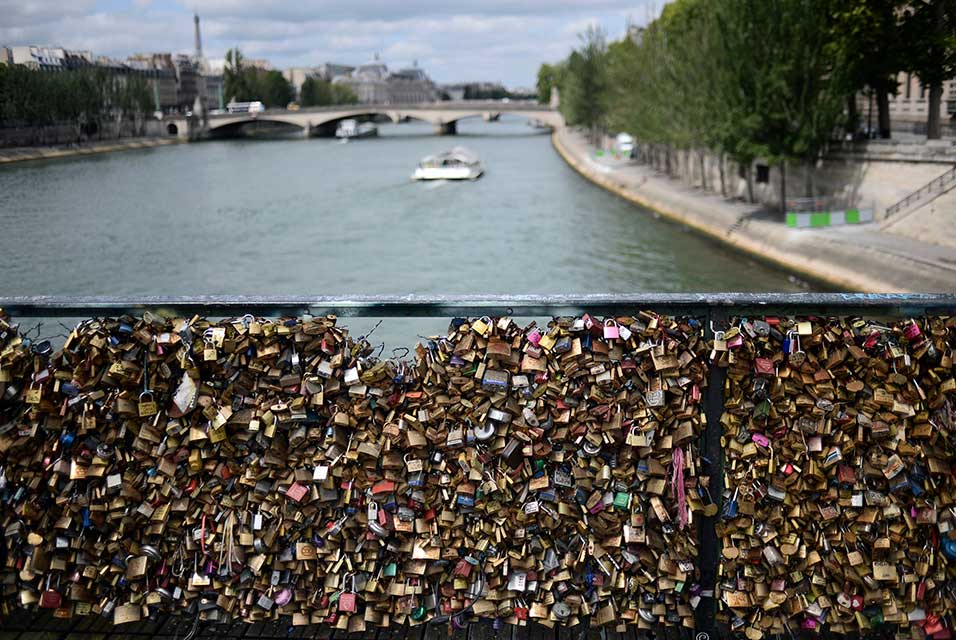 Pont des Arts in Paris.
